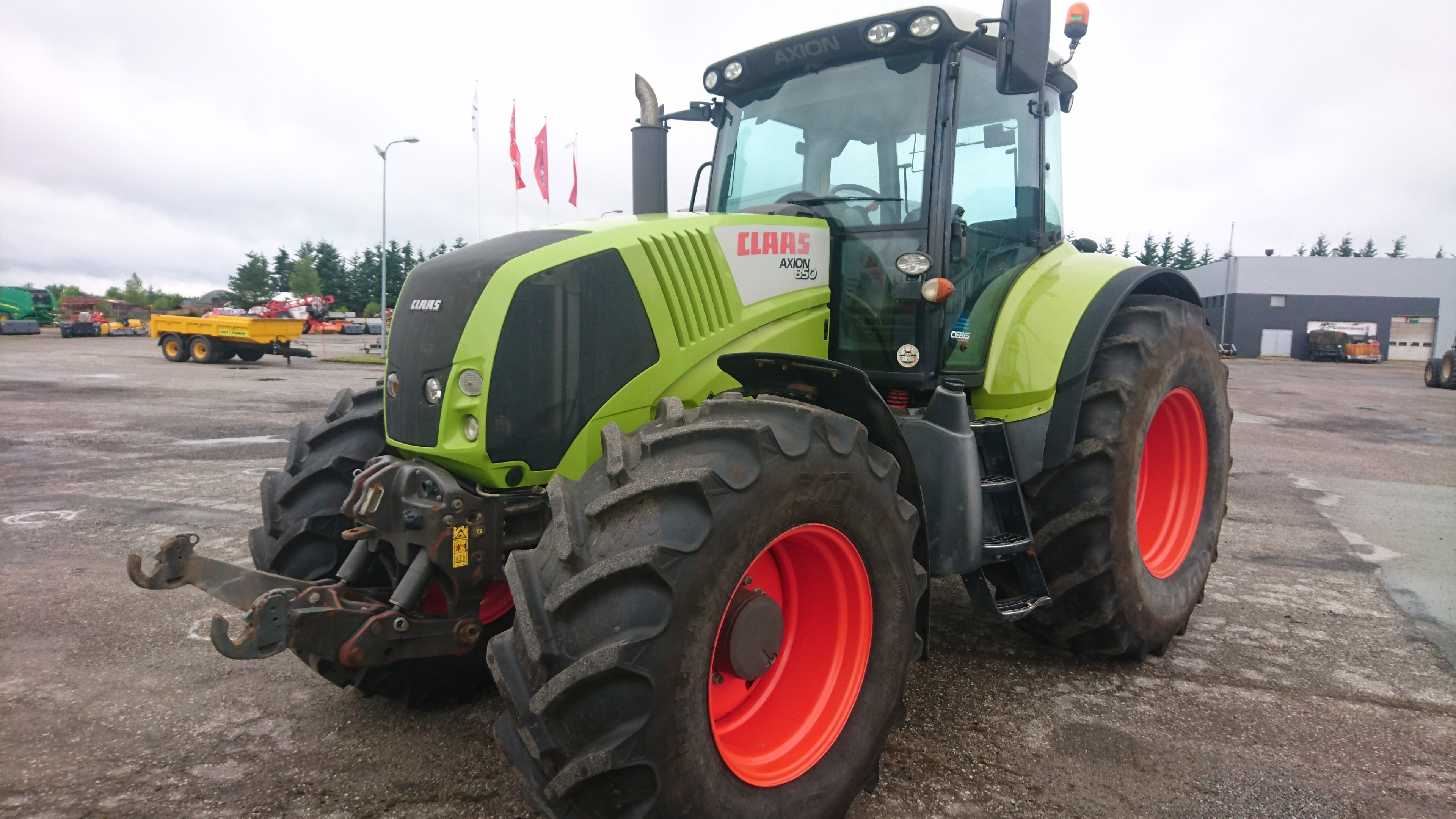 Müüa Claas Axion 850